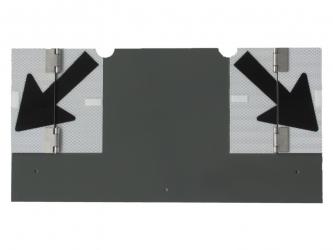 SLOWSIGNAL® 30/50 Tafel-Nachrüstsatz zum Annieten