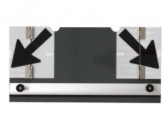 SLOWSIGNAL®  30/50 Zusatztafel aufklemmbar