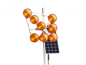 Solar-Leuchtpfeil LED